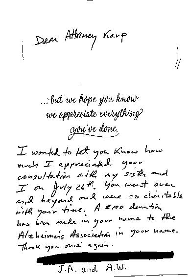 Karp Testimonial
