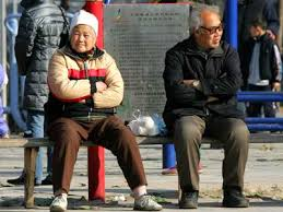 Senior Couple in China